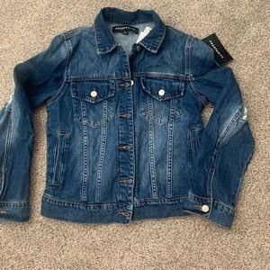 Prosperity distressed denim jacket - XL